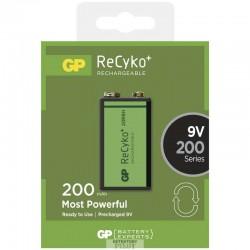 Nabíjecí baterie GP ReCyko+ NiMH 200 mAh 8.4V