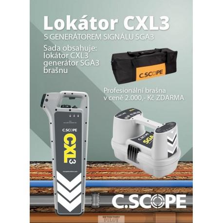 Lokátor C.Scope CXL2 a generátor SGA2 -set
