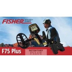 Detektor kovů Fisher Fisher F75 V2 Plus