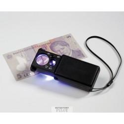 Lupa vysouvací s LED II