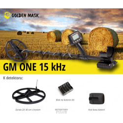 Detektor kovů GoldenMask GM ONE 15 kHz