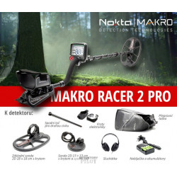 Detektor kovů Makro Racer II SET