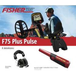 Detektor kovů Fisher F75 V2 Plus Pulse