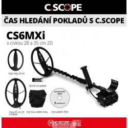C.Scope CS6MXi hloubkový set