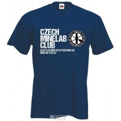 Tričko Czech Minelab Club, velikost L