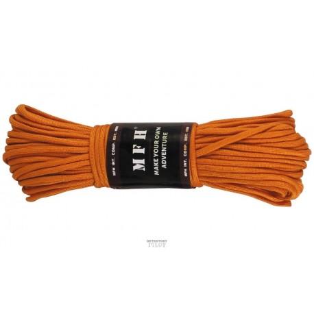 Paracord - padáková šňůra 30m oranžová